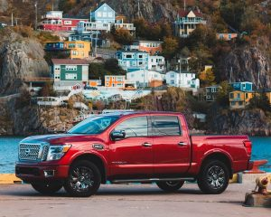 Tiny Home Towing - Nissan Titan Truck